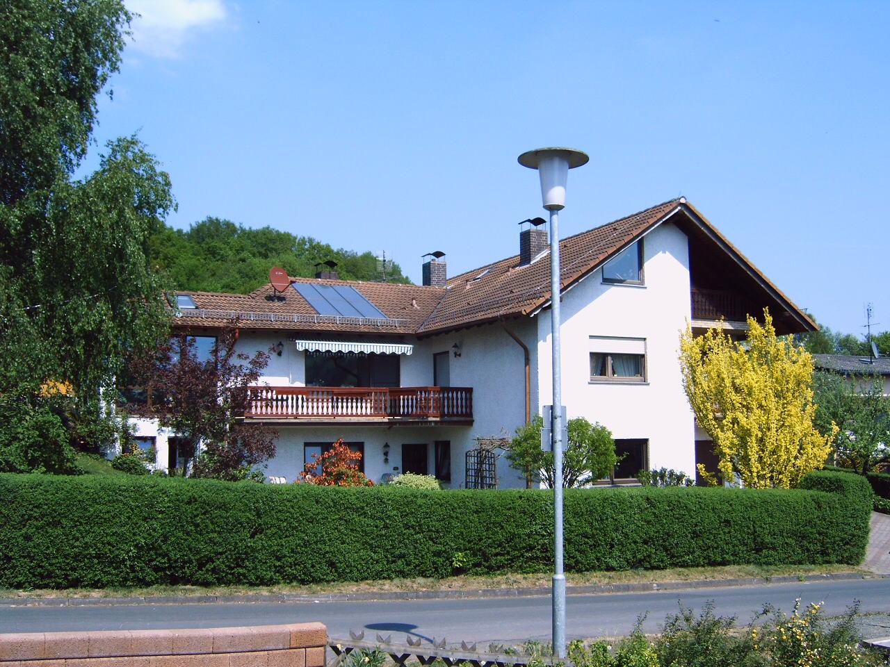 Ferienwohnung haus am burgwaldpfad herzlich willkommen for Haus design mac